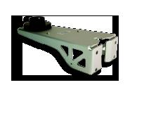 Soporte para estaciones meteorologicas o sensores de viento para pared o mástil